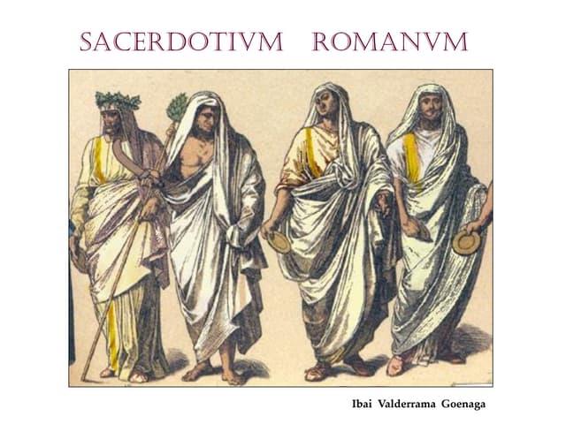 Sacerdotes en la antigua Roma