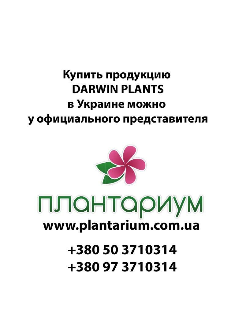 Садовые растения Darwin Plants весна 2014