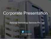 Sadyogi Technology Offers Cost Effective Web Solutions in India