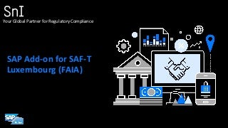 Luxembourg SAF-T Add-On for SAP (by SNI)