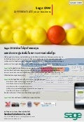 Sage CRM brochure (Thai version)