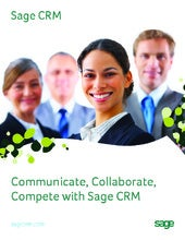 Sage CRM product brochure