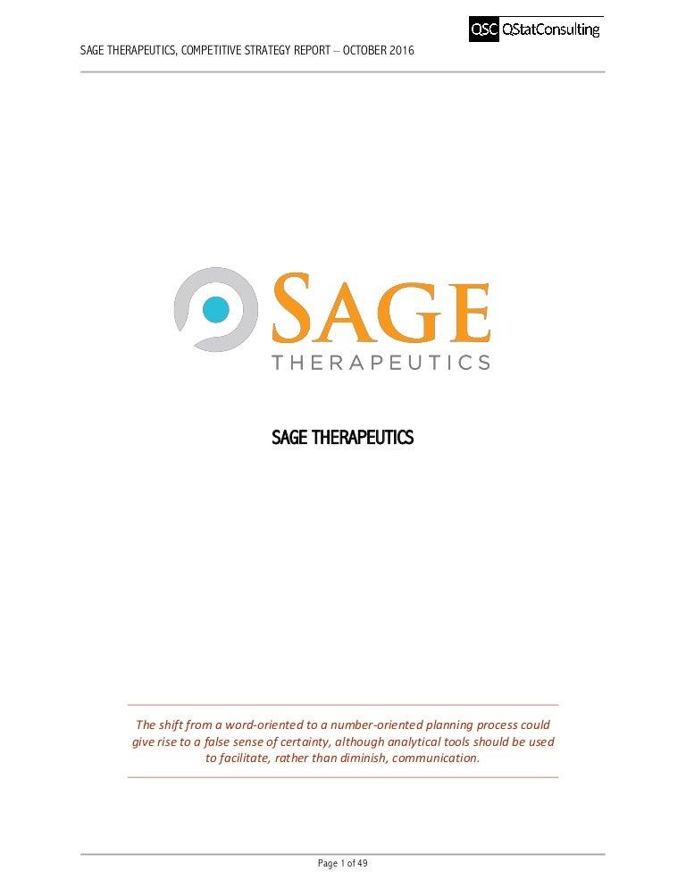 Sage therapeutics inc ipo