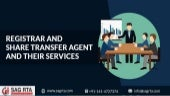 Find Out Best Registrar and Share Transfer Agent