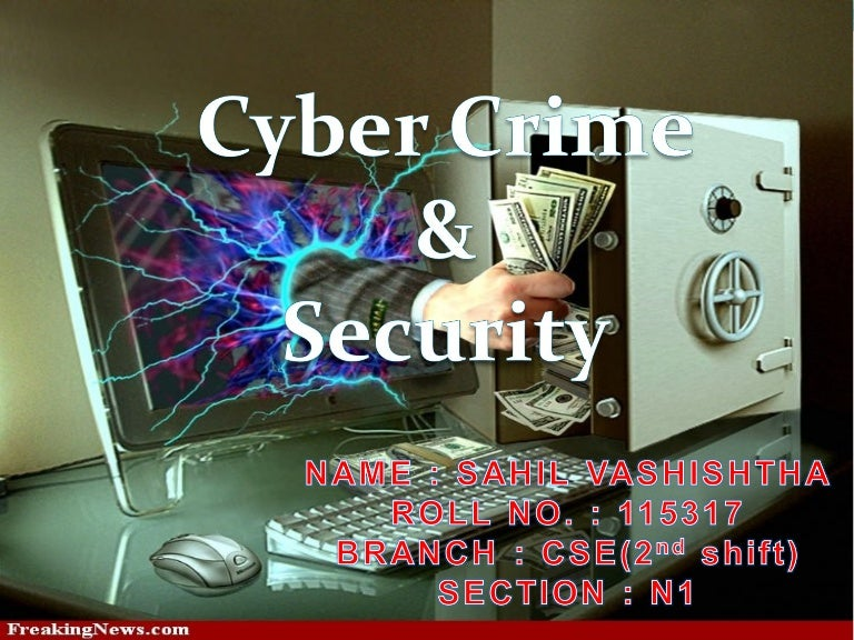 cyber crime and security, Powerpoint templates