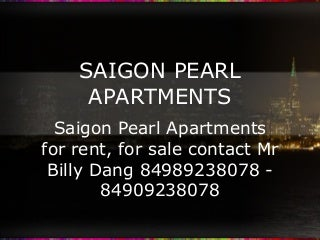Saigon Pearl Apartments