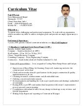 SlideShare  Resume Civil Engineer