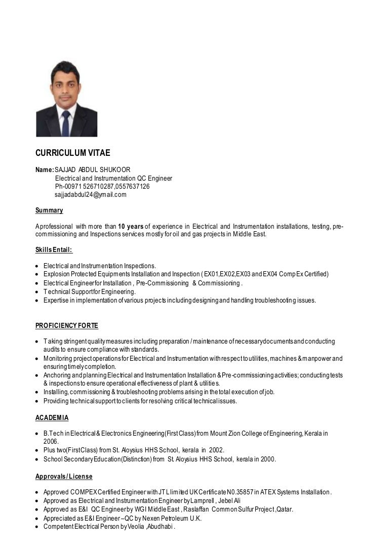 Sajjad QC Engineer