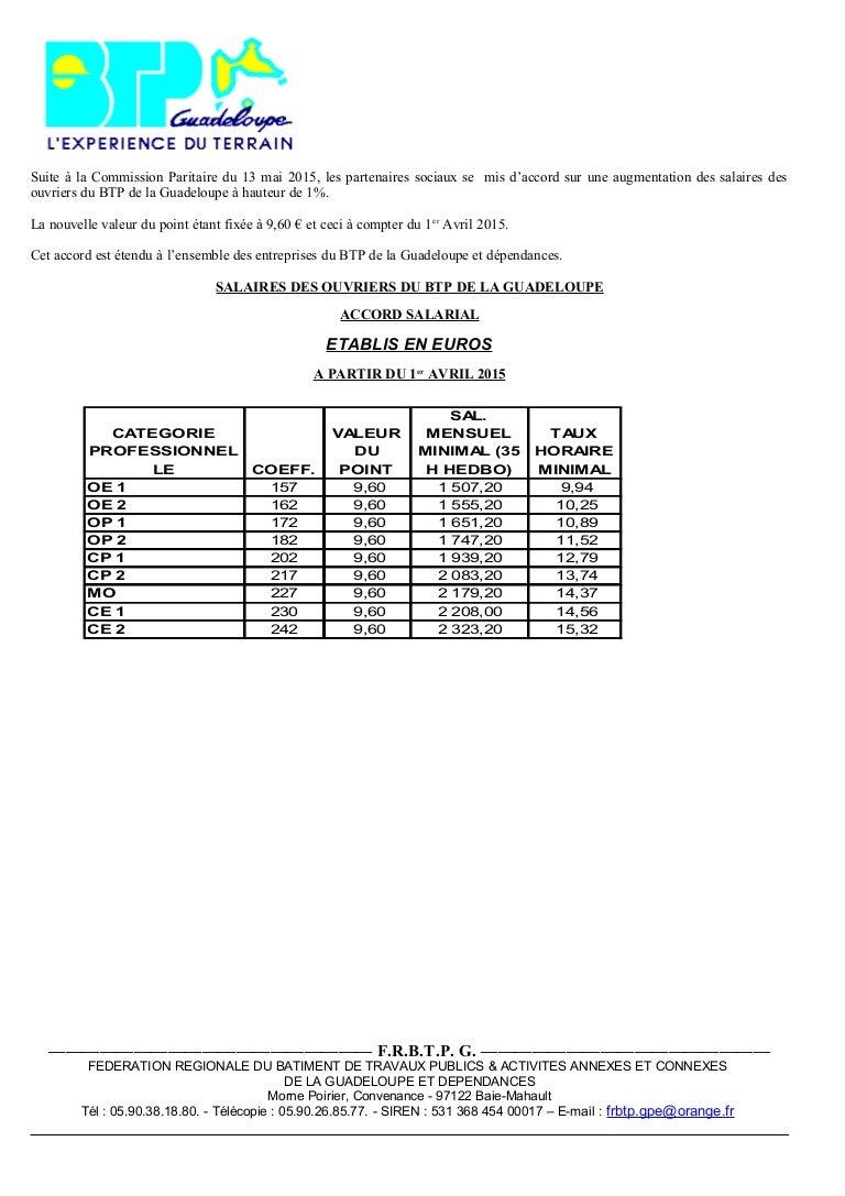 Idcc 2328 Salaires Et Primes Des Ouvriers