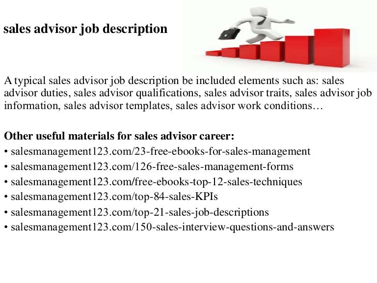Job Description For Sales Assistant - Text