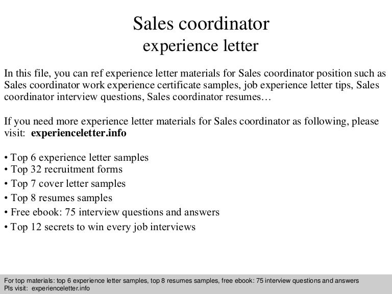 cover letter sales associate