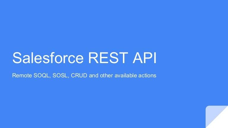 Salesforce REST API