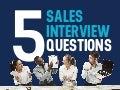 Sales interview Questions To Gauge Sales Competency | Salas Management Infographic