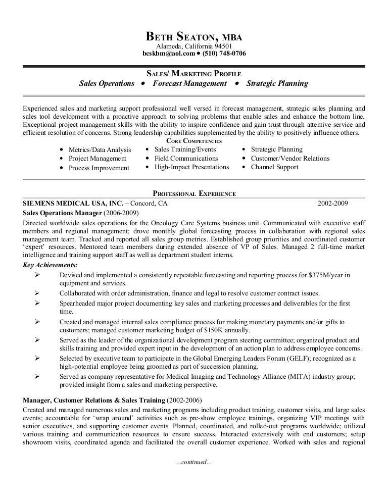 SlideShare  Resume For Sales
