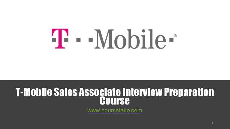 t mobile sales associate