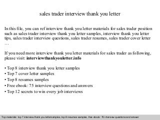 prop trader cover letter corporate travel sales executive ...