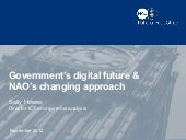 Government's digital future & NAO's changing approach