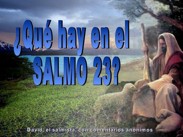 Salmo Xxiii