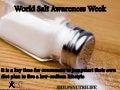 World Salt Awareness Week - Tips to reduce sodium