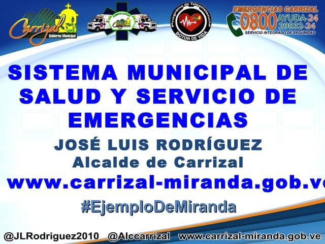 La gestión primaria en salud en el municipio Carrizal