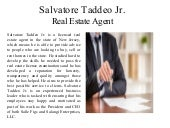 Salvatore Taddeo Jr. - Real Estate Agent