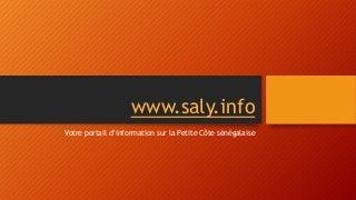Saly Sénégal - Votre destination privilégiée en Afrique de l'Ouest