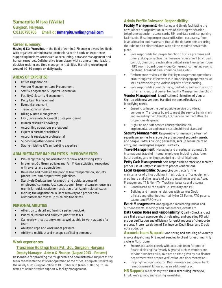 Samarpita resume