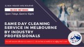 Same Day Cleaning Service in Melbourne by Industry Professionals