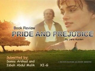 Jane Austen's Pride and Prejudice
