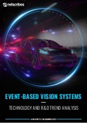 Event-Based Vision Systems – Technology and R&D Trends Analysis Report