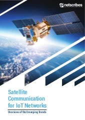 Satellite Communication for IoT Networks – Emerging Trends