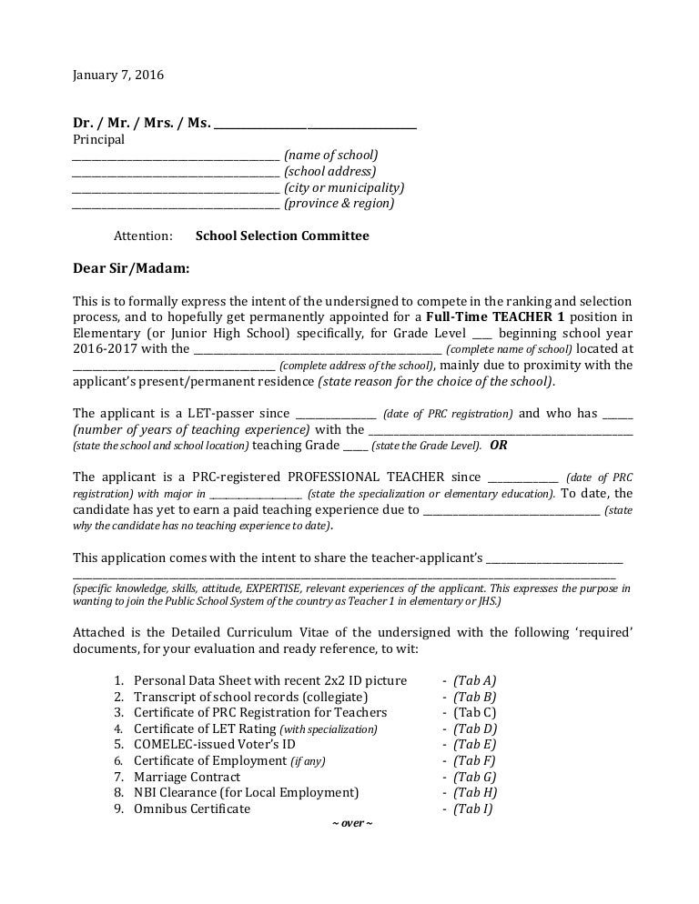 Letter Of Intent For Teacher from cdn.slidesharecdn.com