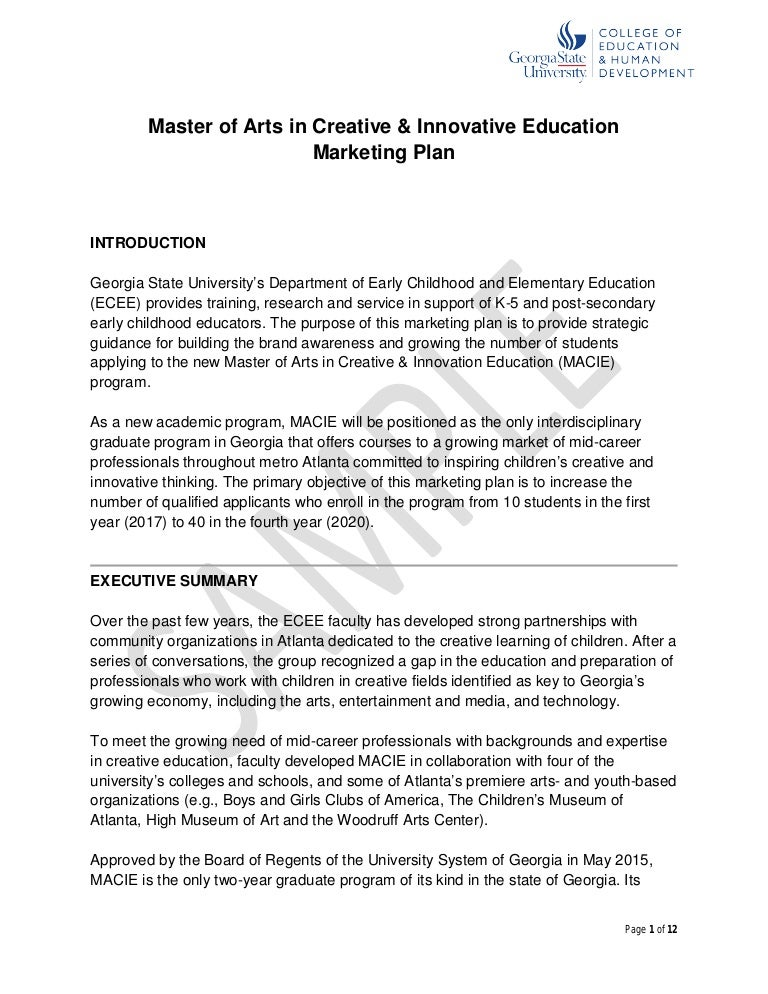 Marketing thesis in phd