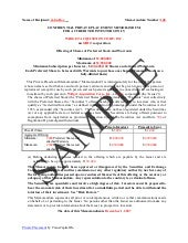 Private Placement Memorandum for Real Estate Fundnd