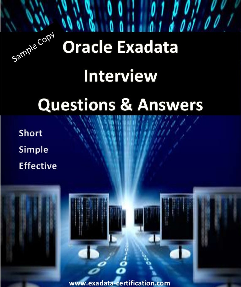 Oracle Interview Questions And Answers For Experienced Pdf