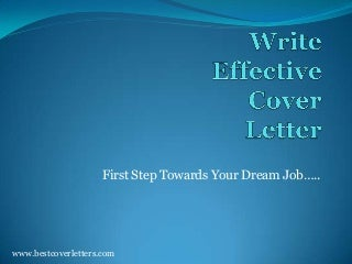 Cover  Prospecting and Thank You Letters  Columbia College     The Cover Letter