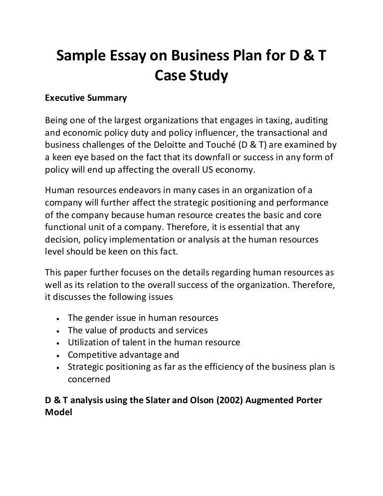 small business case study pdf
