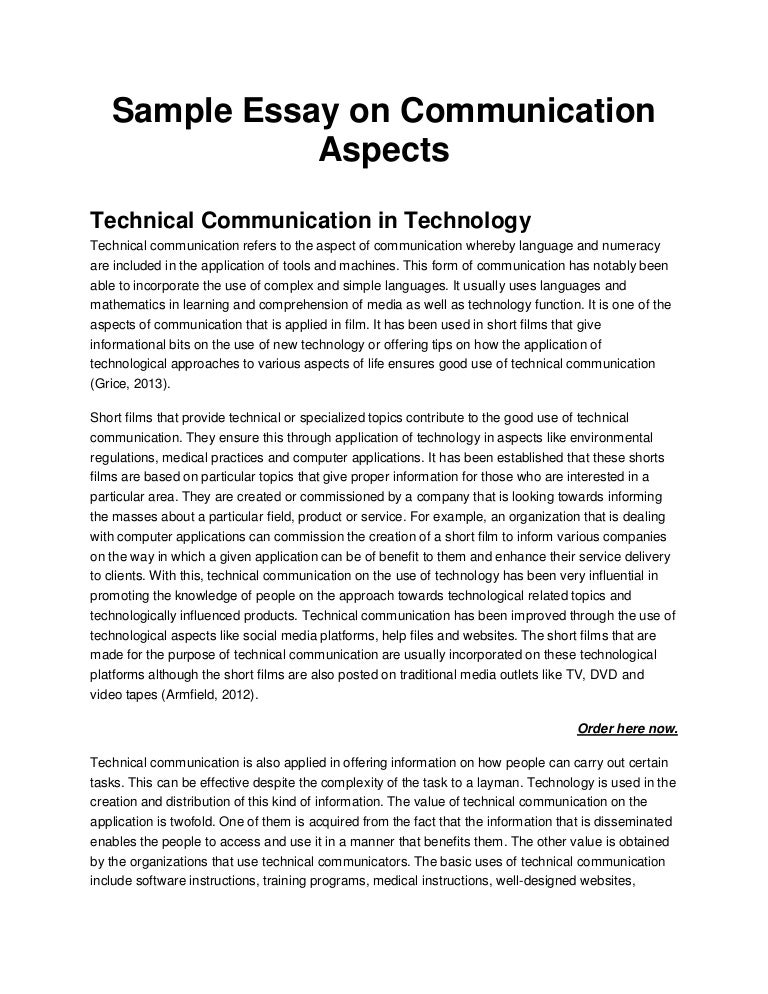 How to start an essay on effective communication title page essay mla