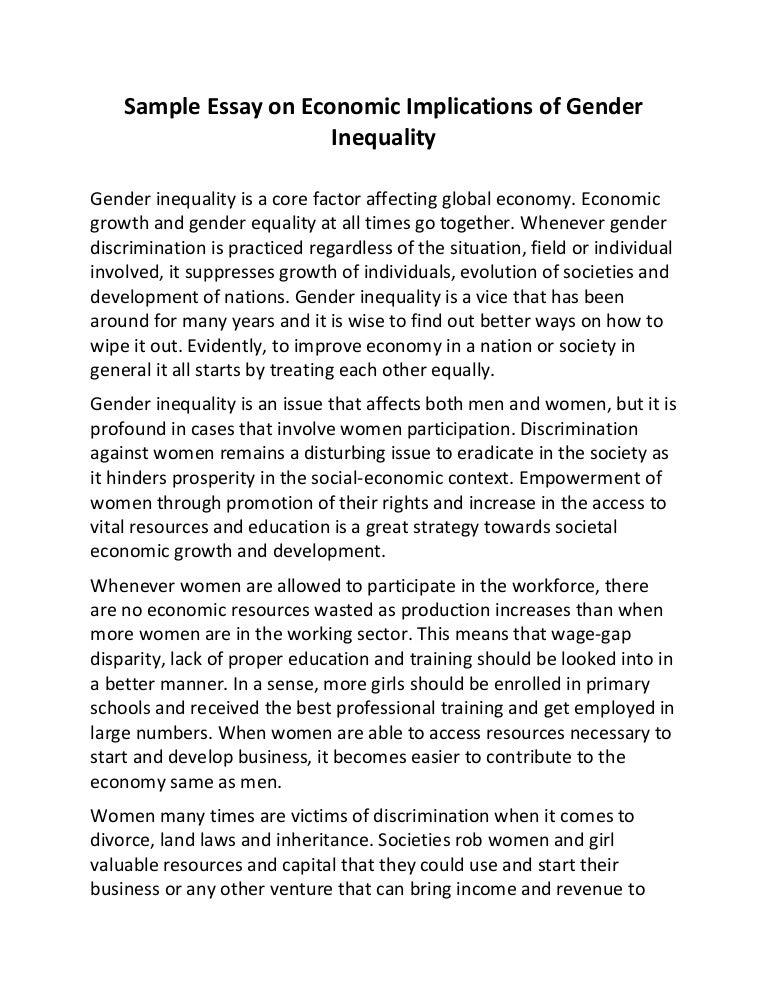 Essay on inequality idas ponderresearch co