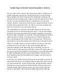 An essay on fast food