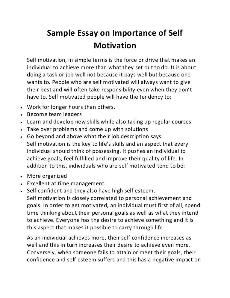 self awareness essay in english