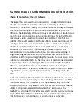 Sample essay leadership