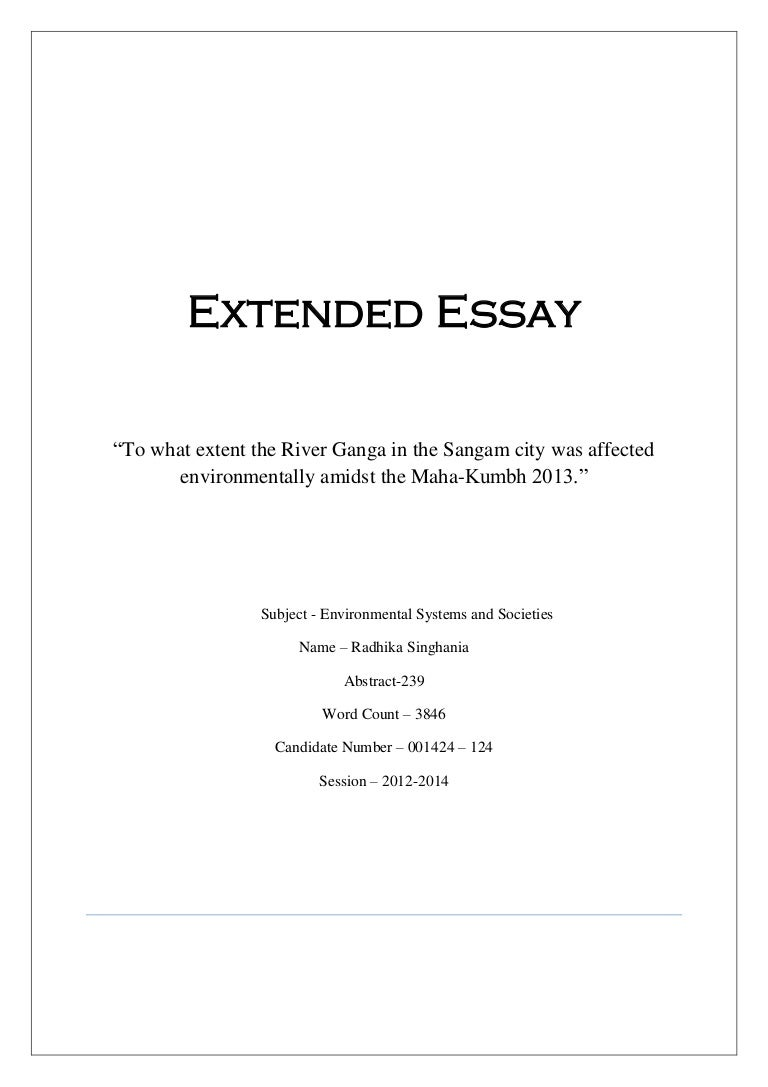 extended essay abstract examples examples