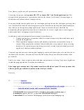 Political Campaign Letter Templates - Sample