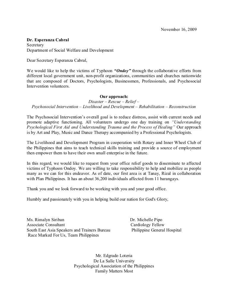Application letter for social welfare assistant selol ink application letter for social welfare assistant sample letter of request to dswd altavistaventures Gallery