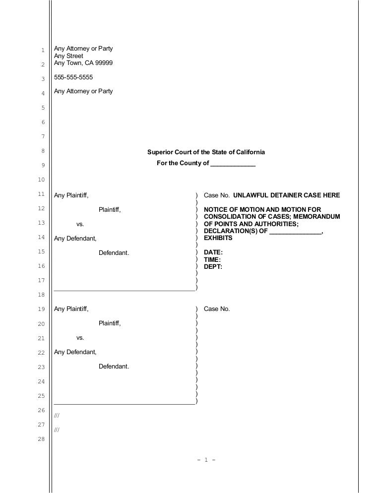 Consolidating cases in oregon