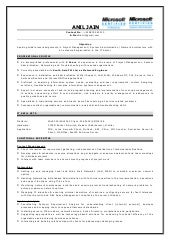 SlideShare  Network Engineer Sample Resume