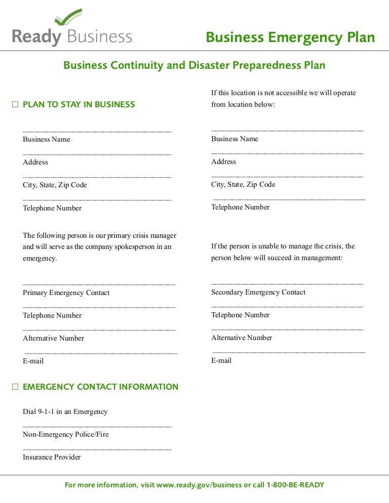 Ready sample disaster planning template cheaphphosting Choice Image