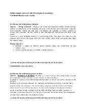 retail manegement  (sikkim manipal university fall assignment 2014)