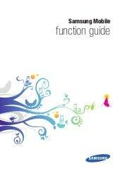 Samsung chat-322 - Samsung GT 3222 function guide
